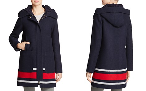 VINCE CAMUTO Striped Coat - 100% Exclusive - Bloomingdale's_2