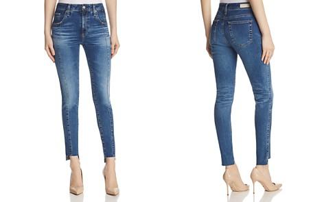 AG Farrah Ankle Skinny Jeans in 10 Years Rhythmic Blues - Bloomingdale's_2