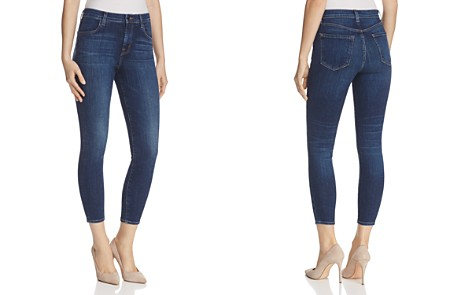 J Brand Alana High Rise Crop Jeans in Mesmeric - Bloomingdale's_2