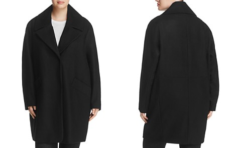 Marc New York Plus Wendy Notched Collar Coat - Bloomingdale's_2