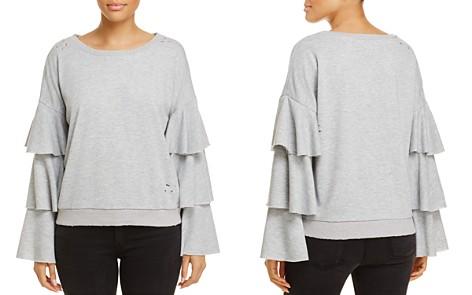 Honey Punch Ruffle-Sleeve Sweatshirt, Fashion Find - 100% Exclusive - Bloomingdale's_2