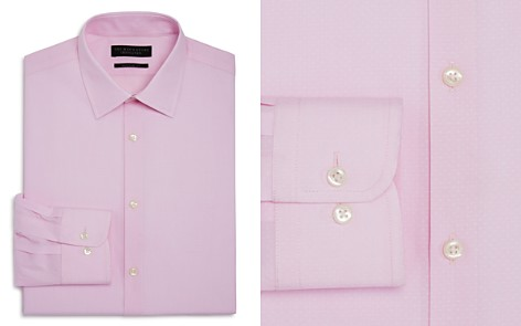 The Men's Store at Bloomingdale's Textured Dobby Regular Fit Dress Shirt - 100% Exclusive_2