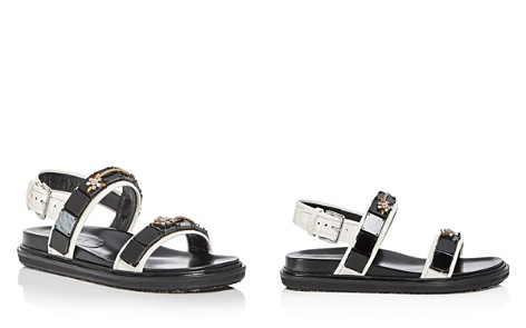 Marni Women's Fusbett Embellished Leather Sandals - Bloomingdale's_2