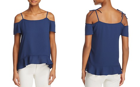 Cooper & Ella Maja Tie-Strap Cold-Shoulder Top - Bloomingdale's_2