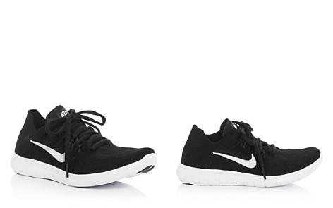 Nike Women's Free RN Flyknit Lace Up Sneakers - Bloomingdale's_2