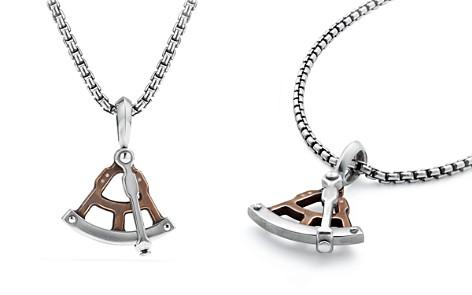 David Yurman Maritime Sextant Amulet with Bronze - Bloomingdale's_2