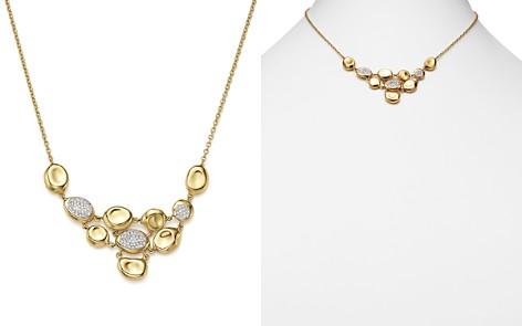 "IPPOLITA 18K Yellow Gold Onda Diamond Necklace, 16"" - 100% Exclusive - Bloomingdale's_2"