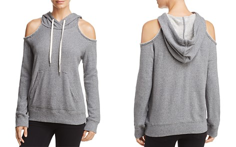 Splendid Cold-Shoulder Hooded Sweatshirt, Fashion Find - Bloomingdale's_2