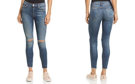 Hudson Barbara Raw-Hem Skinny Ankle Jeans in Nowhere Girl - Bloomingdale's_2