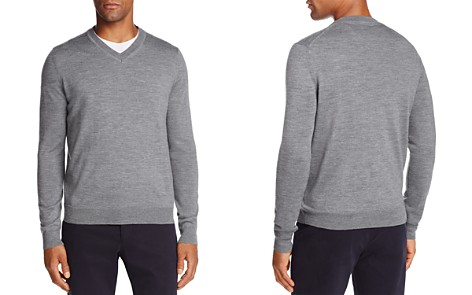 The Men's Store at Bloomingdale's V-Neck Merino Sweater - 100% Exclusive _2