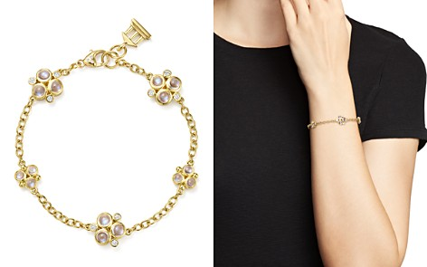 Temple St. Clair 18K Yellow Gold Royal Blue Moonstone and Diamond Trio Bracelet - Bloomingdale's_2