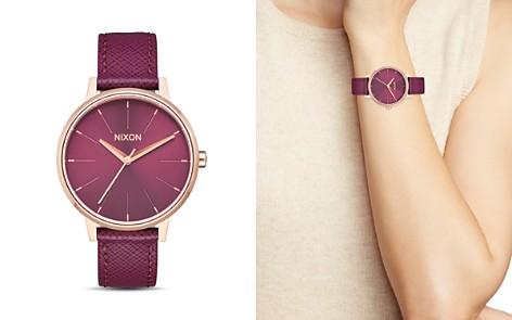 Nixon The Kensington Leather Strap Watch, 37mm - Bloomingdale's_2