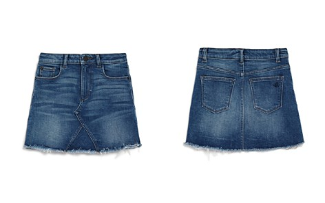DL1961 Girls' Frayed Denim Skirt - Big Kid - Bloomingdale's_2