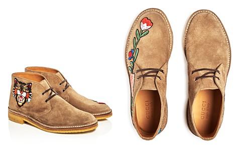 Gucci Appliqué Chukka Boots - Bloomingdale's_2
