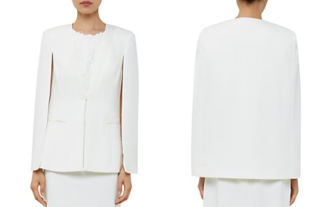 Ted Baker Maggyy Ottoman Cape Blazer - Bloomingdale's_2