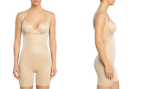SPANX® Power Conceal-Her Open-Bust Mid-Thigh Bodysuit - Bloomingdale's_2