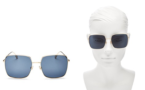 Dior Women's Stellaire Oversized Square Sunglasses, 59mm - Bloomingdale's_2