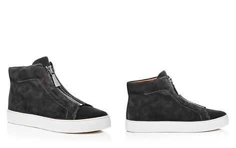 Frye Women's Lena Zip Suede High Top Sneakers - Bloomingdale's_2