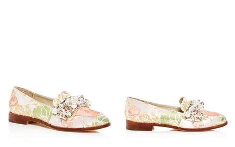Bettye Muller Women's Revel Embellished Brocade Loafers - Bloomingdale's_2