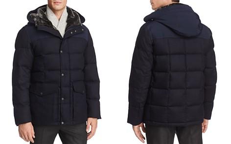 Cole Haan Flannel Down Hooded Jacket - Bloomingdale's_2