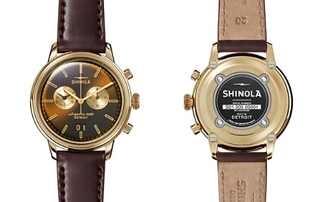 Shinola Men's Bedrock Chronograph Watch, 42mm - Bloomingdale's_2