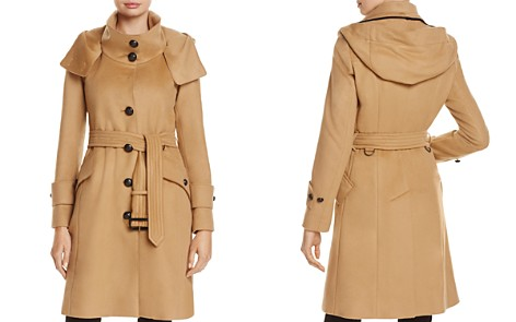 Burberry Claybrooke Single-Breasted Peacoat - Bloomingdale's_2