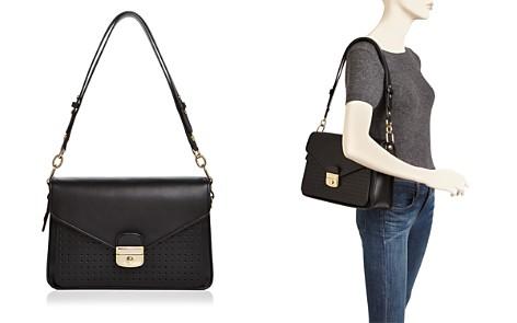 Longchamp Mademoiselle Leather Shoulder Bag - Bloomingdale's_2