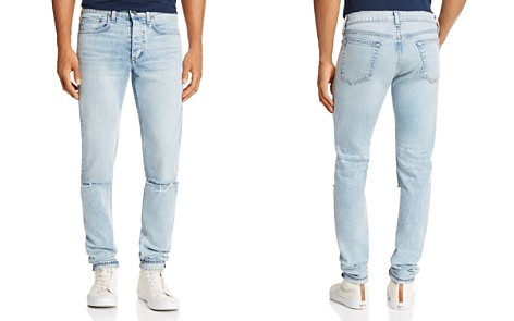 rag & bone Standard Issue Fit 1 Super Slim Fit Jeans in Light Wash - Bloomingdale's_2
