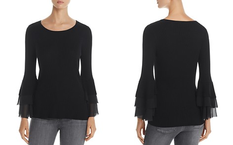 Design History Tiered Bell Sleeve Sweater - Bloomingdale's_2