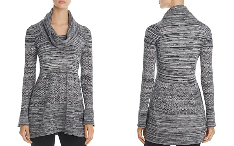 Heather B Cowl Neck Pointelle Sweater - Bloomingdale's_2