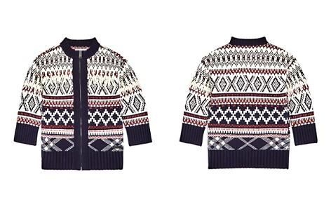 Burberry Girls' Tesino Fringe Zip-Up Cardigan Sweater - Little Kid - Bloomingdale's_2