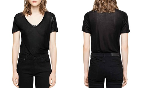 Zadig & Voltaire Tino Foil T-Shirt - Bloomingdale's_2