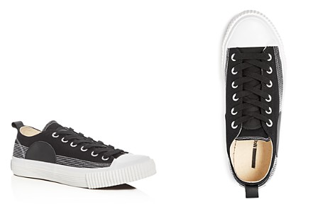 McQ Alexander McQueen Swallow Plimsoll Lace Up Sneakers - Bloomingdale's_2