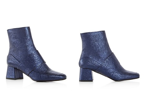 Aska Goldie Metallic Block Heel Booties - Bloomingdale's_2