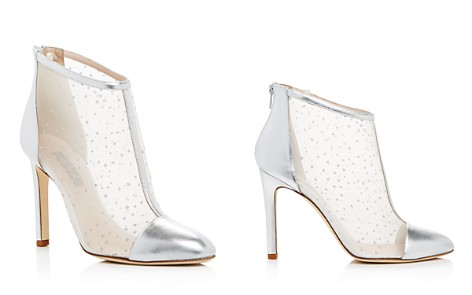 SJP by Sarah Jessica Parker Women's High Wire Glitter Mesh High Heel Booties - 100% Exclusive - Bloomingdale's_2