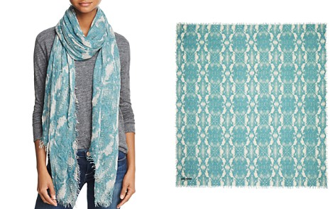 Zadig & Voltaire Python Print Scarf - Bloomingdale's_2