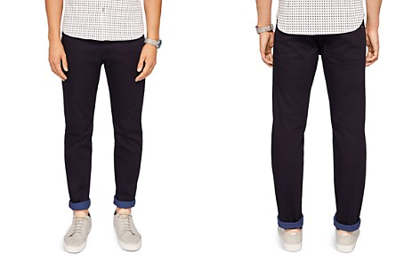 Ted Baker Sirrius Straight Fit Jeans in Dark Blue - Bloomingdale's_2