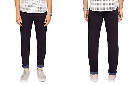 Ted Baker Sirrius Straight Fit Jeans in Dark Blue - Bloomingdale's_2