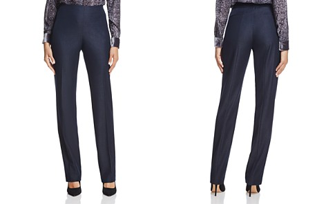 T Tahari Rae Flat Front Pants - Bloomingdale's_2