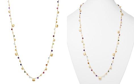 "Marco Bicego 18K Yellow Gold Paradise Teardrop Long Gemstone Necklace, 34"" - Bloomingdale's_2"