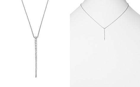 "KC Designs 14K White Gold Diamond Vertical Spike Pendant Necklace, 16"" - Bloomingdale's_2"