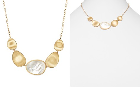 """Marco Bicego 18K Yellow Gold Lunaria Mother-of-Pearl Collar Necklace, 17"""" - Bloomingdale's_2"""