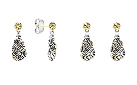 LAGOS 18K Gold & Sterling Silver Torsade Drop Earrinsgs - Bloomingdale's_2