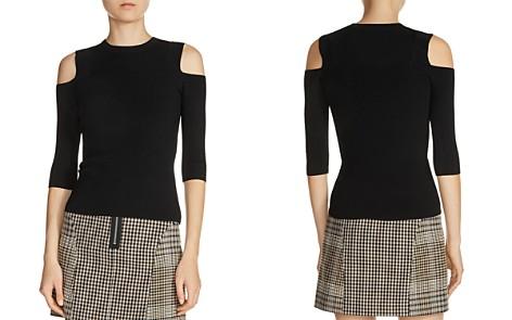 Maje Manato Cold Shoulder Sweater - Bloomingdale's_2