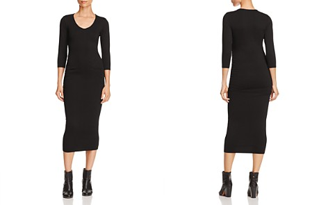Michael Stars Ruched Midi Dress - Bloomingdale's_2