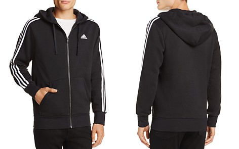 adidas Originals Essentials 3-Stripe Zip Hooded Sweatshirt - Bloomingdale's_2