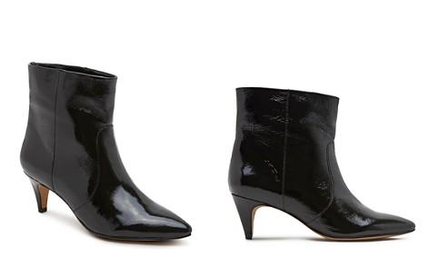 Dolce Vita Women's Dee Patent Leather Kitten Heel Booties - Bloomingdale's_2