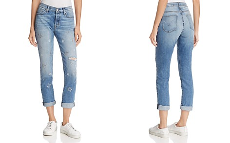 Hudson Riley Relaxed Straight Jeans in Evolution - Bloomingdale's_2