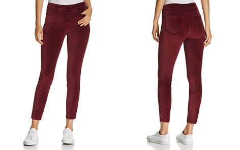 NYDJ Petites Ami Velvet Skinny Legging Jeans in Deep Currant - 100% Exclusive - Bloomingdale's_2