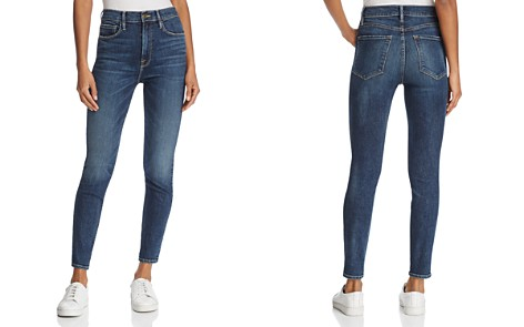 FRAME Ali High-Rise Cigarette Jeans in Alston - Bloomingdale's_2
